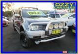 Classic 2009 Mitsubishi Triton ML MY09 GLX-R (4x4) Grey Manual 5sp M Double Cab Utility for Sale