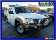 2007 Mazda BT-50 B3000 DX White Manual 5sp M Dual Cab Pick-up for Sale