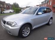 2008 BMW X3 2.0 20d M Sport 5dr 4X4 FULL SERVICE HISTORY DIESEL AMAZING CAR   for Sale