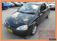 2002 Holden Barina XC Black Automatic 4sp A Hatchback for Sale