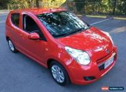 2011 Suzuki Alto GF GLX Red Automatic 4sp A Hatchback for Sale