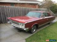 1966 CHRYSLER NEW YORKER COUPE TNT 440 Floor Shift Spanish red  for Sale