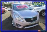 Classic 2010 Holden Barina Spark MJ CD Pink Manual 5sp M Hatchback for Sale