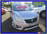 2010 Holden Barina Spark MJ CD Pink Manual 5sp M Hatchback for Sale