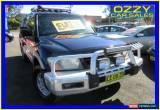 Classic 2001 Mitsubishi Pajero NM GLS LWB (4x4) Blue Automatic 5sp A Wagon for Sale