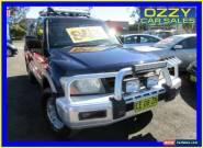 2001 Mitsubishi Pajero NM GLS LWB (4x4) Blue Automatic 5sp A Wagon for Sale