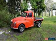 1958 Morris Minor Red and Extra Morris Minor Parts for Sale
