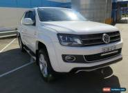 2015 Volkswagen Amarok 2H MY15 TDI420 ULTIMATE White Manual 6sp M 4D UTILITY for Sale