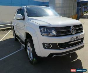 Classic 2015 Volkswagen Amarok 2H MY15 TDI420 ULTIMATE White Manual 6sp M 4D UTILITY for Sale