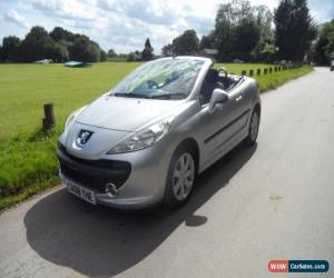 Classic 2008 Peugeot 207 CC Convertible 1.6 16V 120 Sport TIP Auto4 Petrol silver Automa for Sale