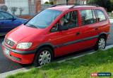 Classic Holden Zafira wagon, with engine issues, Pascoe Vale for Sale