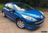 Classic Peugeot 207 1.4 16v 90 ( a/c ) S Blue 3 door for Sale