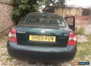 Vw Passat 1.8t 20v petrol 43000 MILES 2003 electrical fault  1 owner for Sale