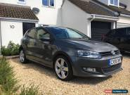 VW Polo 2009 SE L, 34,100 miles, 2 owners, 5dr, 1.4 petrol, metallic grey, FSH for Sale