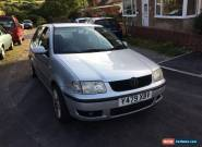 Volkswagen Polo 1.0 e.  Cosmetic damage, low miles, mechanically sound.  Lowered for Sale