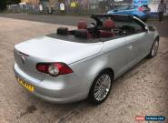2008 VW EOS 2.0TDI SPORT CONVERTIBLE RED LEATHER LOW MILES FULL MOT for Sale