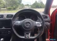 VW Golf MK6 GTD 2011 Red 5 Door Sports for Sale