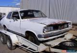 Classic Holden LJ Torona 1973 2 Door Sedan Restorer Collector Project Damaged for Sale