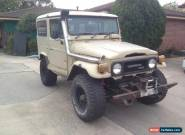 "1982 BJ42 LX Diesel 5 speed ""Freeborn Red"" Toyota PTO winch for Sale"