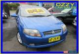 Classic 2007 Holden Barina TK MY07 Blue Manual 5sp M Hatchback for Sale