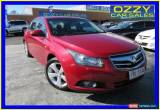 Classic 2011 Holden Cruze JG CDX Maroon Automatic 6sp A Sedan for Sale