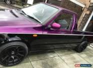 VW skoda felicia Caddy pick up truck mk2 1, low mileage MOT, PURPLE! for Sale