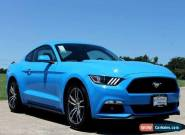 2017 Ford Mustang Ecoboost Coupe for Sale
