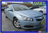 Classic 2010 Holden Cruze JG CD Blue Automatic 6sp A Sedan for Sale