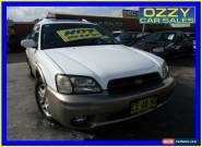 1999 Subaru Outback MY99 Limited White Manual 5sp M Wagon for Sale