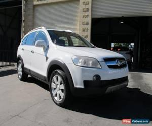 Classic 2008 Holden Captiva CG LX (4x4) White Automatic 5sp A Wagon for Sale