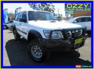 2004 Nissan Patrol GU III DX (4x4) White Automatic 4sp A Wagon for Sale