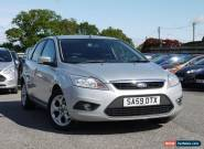 2009 Ford Focus 1.6TDCi Style 5dr, Silver, 115k Miles, 12m MOT, No Reserve for Sale