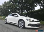 2009 CANDY WHITE VOLKSWAGEN SCIROCCO 2.0 TSi 3 DOOR 6 SPEED MANUAL PETROL for Sale