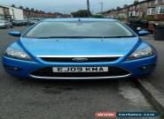 ford focus titanium 1.6tdci 5 door blue 2009 for Sale