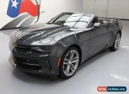 2017 Chevrolet Camaro LT Convertible 2-Door for Sale
