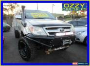 2005 Toyota Hilux GGN15R SR5 Silver Manual 5sp M Dual Cab Pick-up for Sale