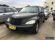 2003 Chrylser PT Cruiser Classic Auto Black December 2017 Rego!!!! for Sale