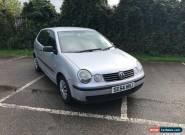 2005 VW Polo S 1.2 - silver, manual, petro,l 3 door with 12 months MOT for Sale