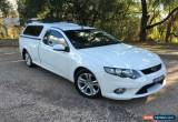 Classic 2011 Ford Falcon FG MK2 XR6 White Automatic 6sp A Utility for Sale