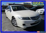 2006 Honda Accord MY06 Upgrade Euro White Automatic 5sp A Sedan for Sale