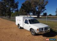 2002 Ford Courier Telstra Service Body XL Work Ute Tradie Ladder Rack conduit  for Sale