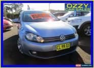 2010 Volkswagen Golf 1K MY11 118 TSI Comfortline Silver Manual 6sp M Hatchback for Sale