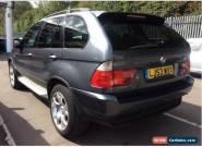 53 BMW X5 2.9 D SPORT ONLY 76K MILES, FULL LEATHER, CLIMATE, ALLOYS, CD LONG MOT for Sale