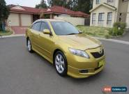 2006 Toyota Camry Sportivo Automatic Sedan 2.4L EFI 4CYL Low Kms -Feb 2018 Rego  for Sale