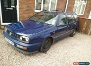 VW Golf mk3 estate variant 1.9 diesel coilovers rat look camper engine restore for Sale