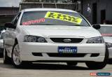 Classic 2004 Ford Falcon BA SR White Automatic 4sp A Sedan for Sale