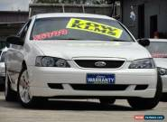 2004 Ford Falcon BA SR White Automatic 4sp A Sedan for Sale
