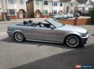 2003 BMW 330 CI SPORT AUTO GREY CONVERTIBLE LOW MILEAGE for Sale
