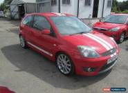 2007 Ford Fiesta Hatch 3Dr 2.0 150 ST 5 Petrol red Manual for Sale