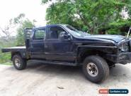 2005 FORD F250 XLT 4 DOOR CREW CAB 7.3 LITRE DIESEL STAT WRITEOFF OFFROAD FARM  for Sale